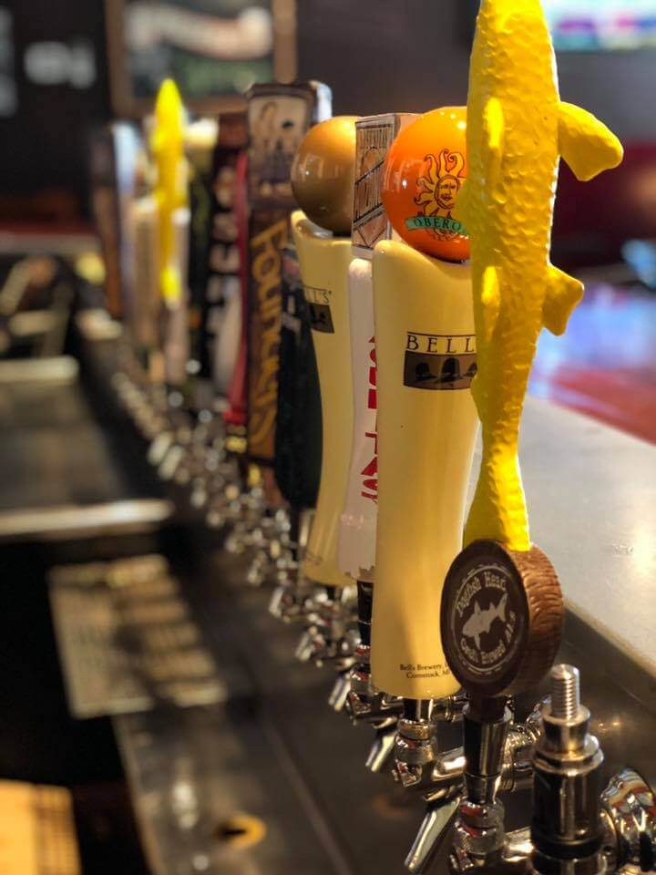 Reds Alehouse Craft Beer Taps