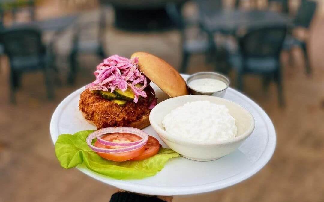 Nashville Hot Chicken Sandwich